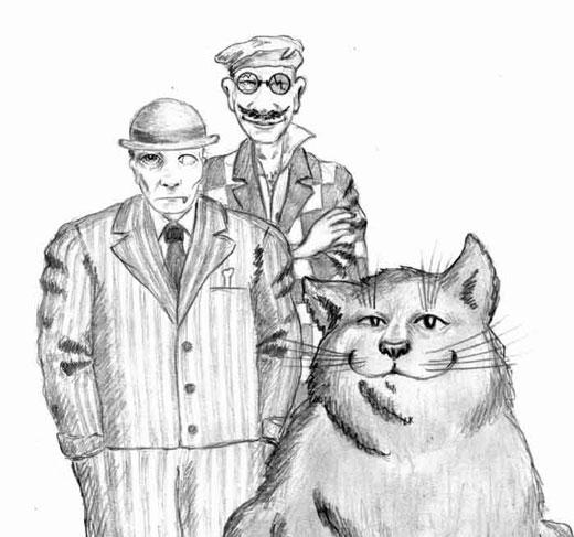 Герои - Мастер и Маргарита